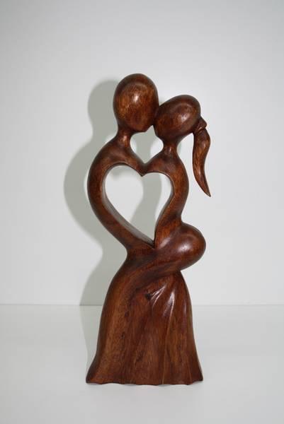 Figuras abstractas de madera - Esculturas de madera abstractas ...